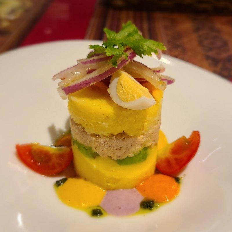 ツナのカウサ(ペルー料理&バル ALDO)の写真