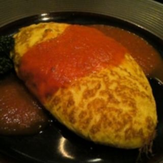 チーズオムレツ(ビストロとサカバ TAKE (タケ 【旧店名】 Restaurant TAKE))