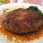 ハンバーグステーキ (せきぐち亭)