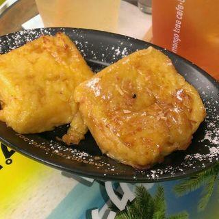 ココナッツトースト(マンゴツリーカフェ+バー ウィング高輪WEST (mango tree cafe+bar))