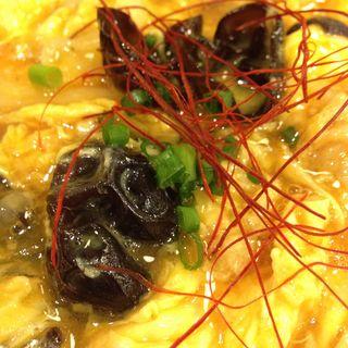 きくらげと卵炒め(野方ホープ 原宿店 (のがたほーぷ))