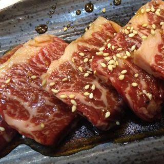 上州牛カルビ(焼肉もーとん)