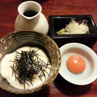 山かけ蕎麦(とろろ)(吉仙)