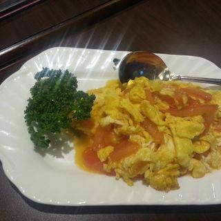 トマト炒め(天丹 銀座)