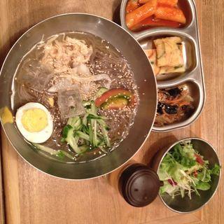 冷麺セット(ポチャ )