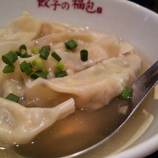 山海スープ餃子(餃子の福包 新宿店 (ギョウザノフクホウ))