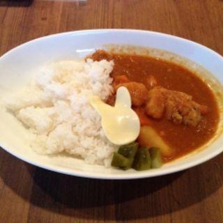 チキンカレー(カフェ・ミニヨン)