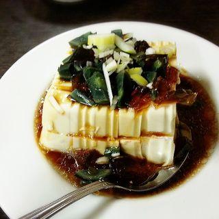 ピータン豆腐(境耘閣 新館 (キョウウンカク))