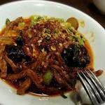 牛肉の炒め煮 ニンニク山椒風味