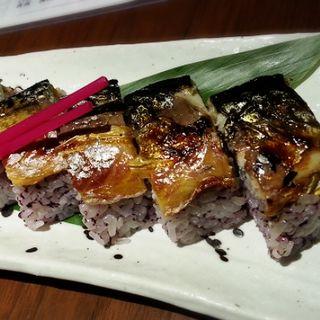 焼き鯖棒寿司(晴れる家)