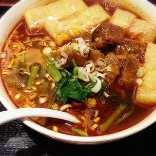 麻辣牛肉麺(東方一角 銀座別館)