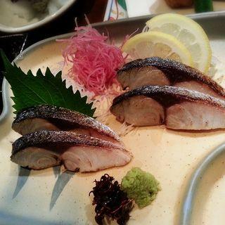 炙りしめ鯖(能登美 (のとみ))