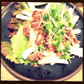 闘鶏サラダ(しゃも三郎 (闘鶏 三郎 しゃもさぶろう))