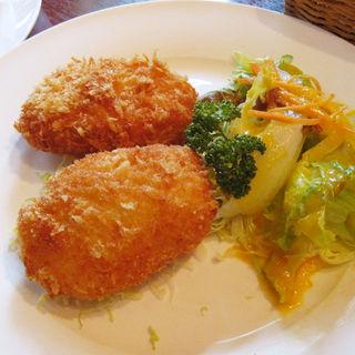 カニクリームコロッケ(シーフードレストラン メヒコ 東京ベイ有明店 (seafoods restaurant MEXICO))
