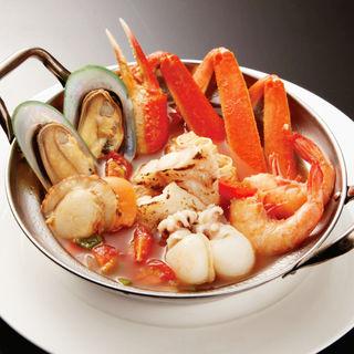 カニと魚介のブイヤベース(シーフードレストラン メヒコ 東京ベイ有明店 (seafoods restaurant MEXICO))