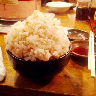 麦めし(亀戸ホルモン (カメイドホルモン))