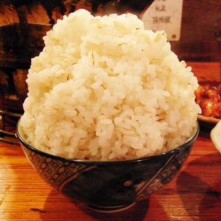大盛り麦めし(亀戸ホルモン (カメイドホルモン))