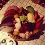 有機蒸し野菜