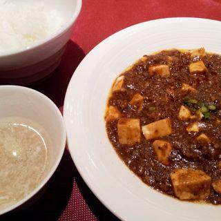 麻婆豆腐セットランチ(ジョーズ シャンハイ 銀座店)