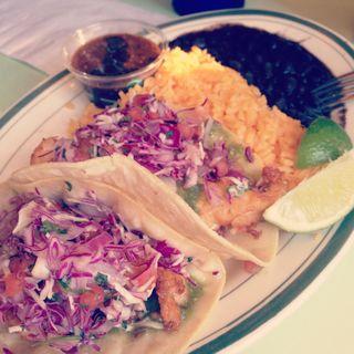 Baja Style Fish Tacos(Cafe Habana)