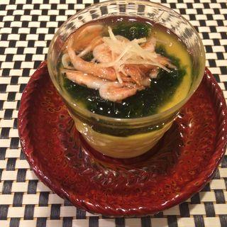 生海苔あんの茶碗蒸し(四季ごはん 晴れ間。)