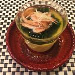生海苔あんの茶碗蒸し
