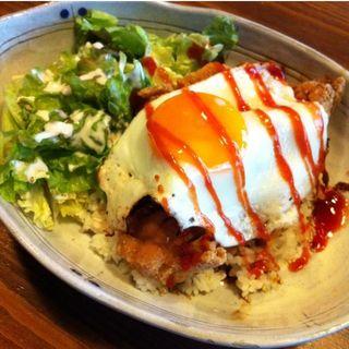 豚肉のポケロコモコランチ(Very Berry Cafe 河原町二条店 (ヴェリーベリー カフェ))