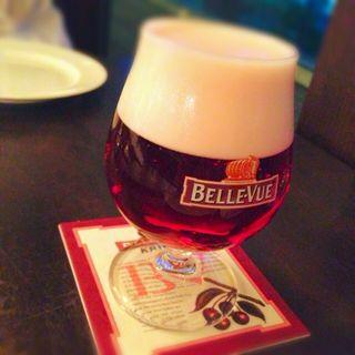 Belle-Vue Kriek(ベルジアン ブラッスリーコート ブルージュ (Belgian Brasserie Court Brugge))