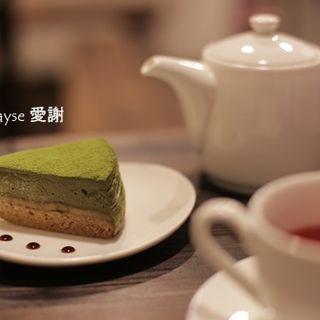 京豆腐のケーキ(抹茶ときなこ)(musubi cafe)