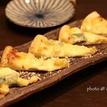 京生麩ととうもろこしの白味噌ハーフピザ