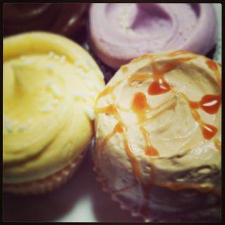キャラメル カップケーキ(Magnolia Bakery)