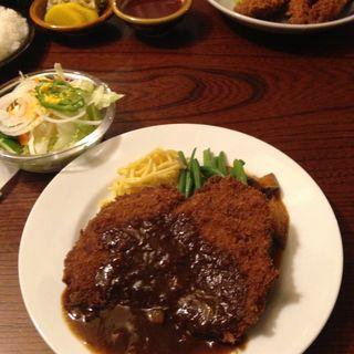 ビーフカツ(欧風料理 もん )