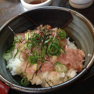 ネギトロ丼(町家カフェ かまくら )
