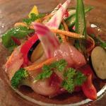 本日の鮮魚カルパッチョサラダ風(プチコニシ)