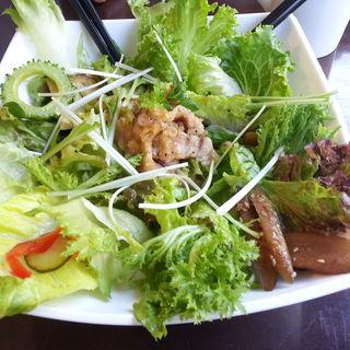 豚とろ丼ランチ(ThanksNature 恵比寿店)