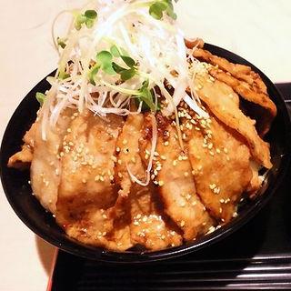 豚肉16枚の筑波山(炙り焼 丼・どん )