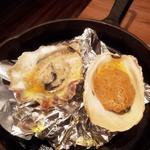 牡蠣 ウニバター焼き