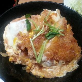 ランチカツ丼(鶴群)