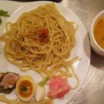 ベジつけ麺  生姜スープ
