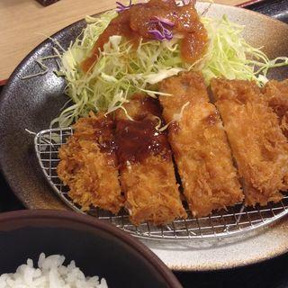 ロースかつ定食(松乃家横浜店 )
