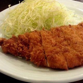 若鶏フライ定食(勝烈庵 相鉄ジョイナス店)