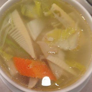 鮑スープ(味仙 今池本店 (ミセン))