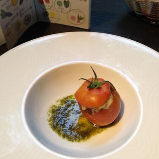 トマトのオーブン焼き(軽井沢ロンギングハウス )