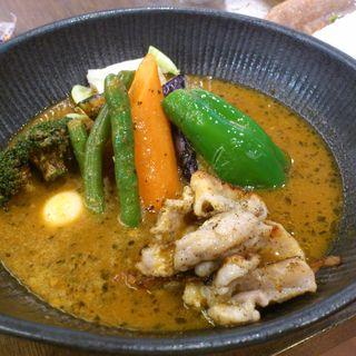 チキンto野菜カレー(lavi 大谷地店 (ラビ))