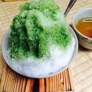 赤福氷(赤福本店)