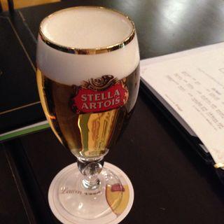 Stella Artois(ベルジアン ブラッスリーコート ブルージュ (Belgian Brasserie Court Brugge))