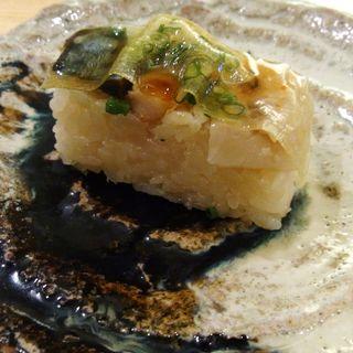 鯖の押し鮨(やま中 博多シティ店)