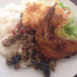 豚ひき肉のタイライス(dish)