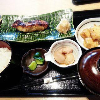 金目鯛西京焼き定食(恵比寿 いなきあ )