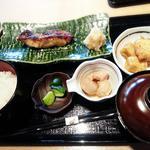 金目鯛西京焼き定食